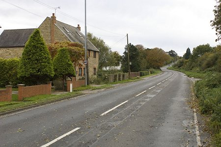 Highworth empty road 15 October 2008