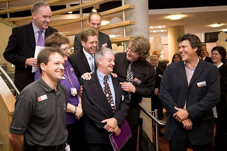 the opening of the new Swindon Central Library