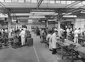 Vickers workforce 1950s