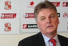 Swindon Town chairman Andrew Fitton