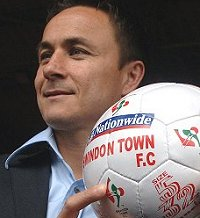 Dennis Wise as Swindon manager