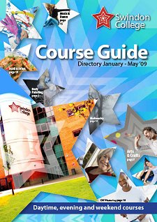 Swindon College 2009 part-time course guide