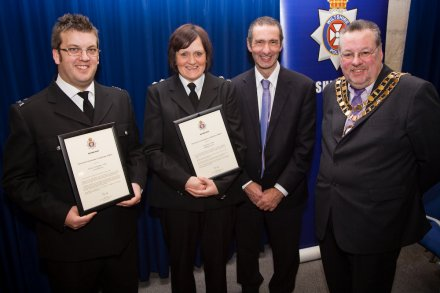 Police Awards at STEAM in Swindon