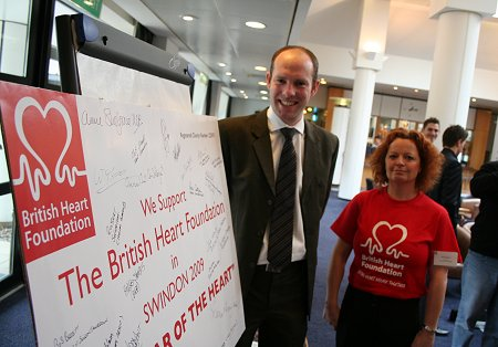 British Heart Foundation launch