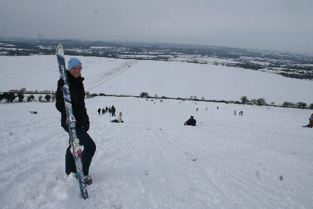 Liddington Hill, Swindon 08 Feb 2009