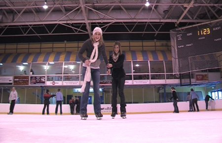 Dancing on Ice SwindonWeb adventure 