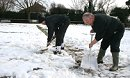 Still snow go at Highworth Town