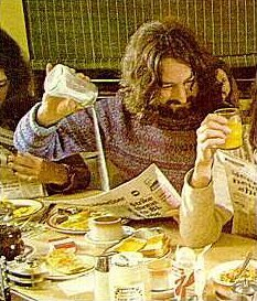 Swindon's Rick Davies, seen here on the album cover of Supertramp's Breakfast in America