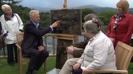 Swindon-born artist Leslie Cole, as featured on the Antiques Roadshow 22 March 2009