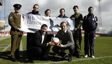 Help for Heroes Swindon Town Football Club