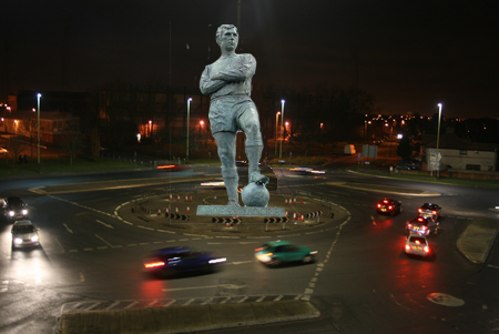 Don Rogers Statue on Magic Roundabout