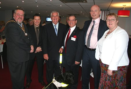 Swindon Old Town Rotary presentation dinner at Swindon Town football club 09 April 2009