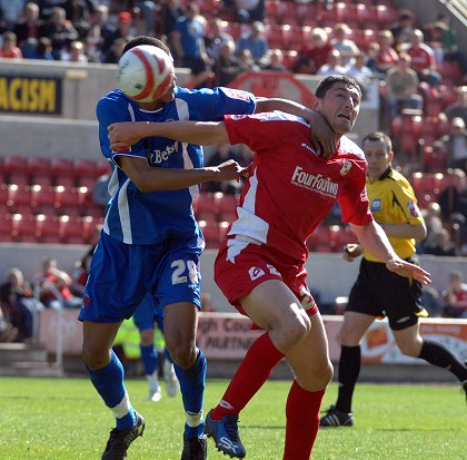 Billy Paynter, Swindon v Orient 13 April 2009
