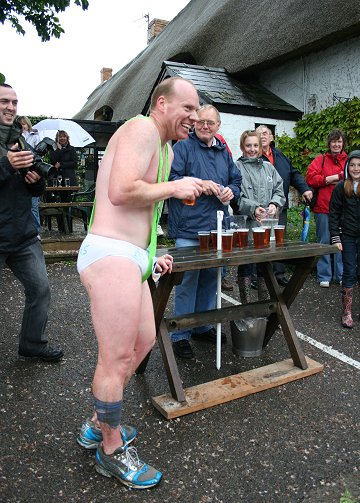 Wanborough Beer race