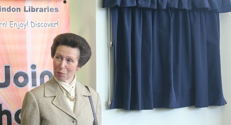 The Princess Royal in Swindon to offcially open the new Swindon central library