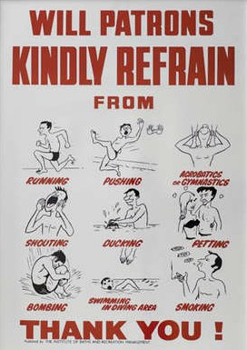 Swimming Rules