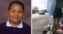 Tyrese Hannah, victim of a speeding motorist in Swindon