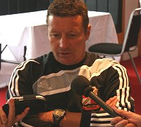 Swindon Manager Danny Wilson