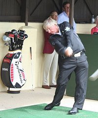 Peter Mitchell at Wrag Barn Golf Club