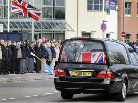 Repatriation of Staff Sergeant Olaf Sean George Schmid through Swindon