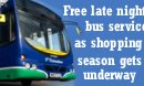 Free bus service