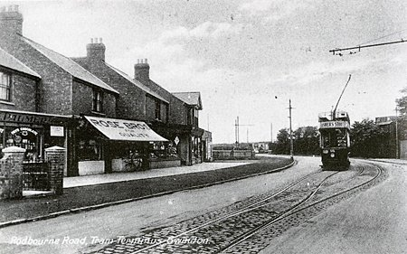 Tram Terminus Swindon 1925