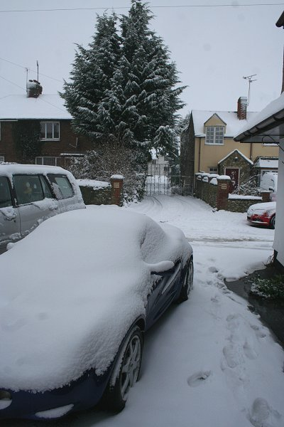 Highworth Snow 13 Jan 2010