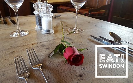 Valentine's in Swindon Eating Out