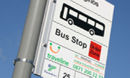 Final stop for bus route
