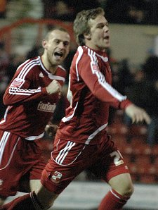 Danny Ward Swindon v Stockport