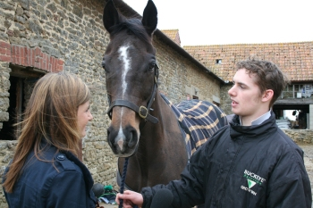 Man from Highworth racehorse, trained by Mrs HJ Manners