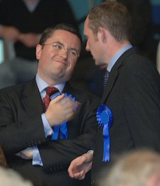 Robert Buckland & Justin Tomlinson Conservative candidates beaten in the General Election 2005