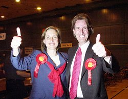 Julia Drown & Michael Wills Swindon MPs