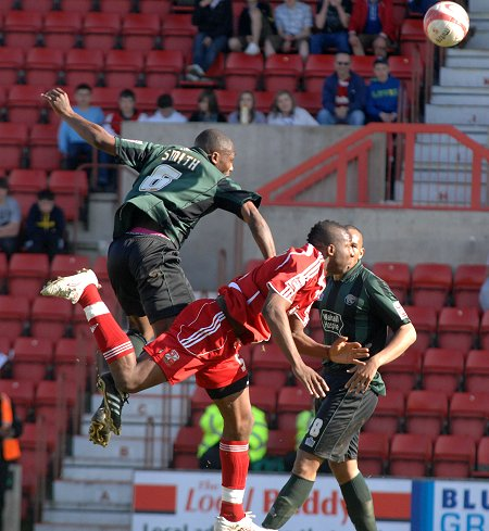 Swindon v Walsall 17 April 2010