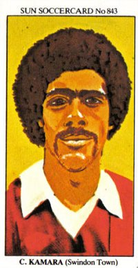 Chris Kamara Swindon