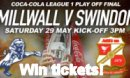 Win tickets to Swindon v Millwall