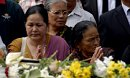 Gurkha Families Mourn At Wootton Bassett