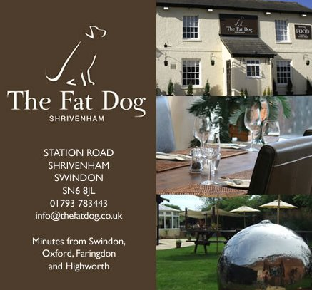 Fat Dog restaurant near Swindon