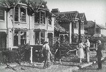 Bomb damaged Swindon
