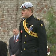 Prince Harry at Lydiard Park, Swindon