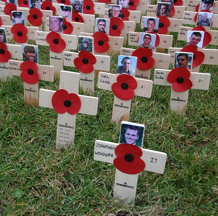 Field of Remembrance, Lydiard Park, Swindon