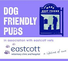 Dog friendly food pubs Swindon