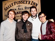 Sally Pussey's Inn visited by The Inbetweeners for Comic Relief 2011