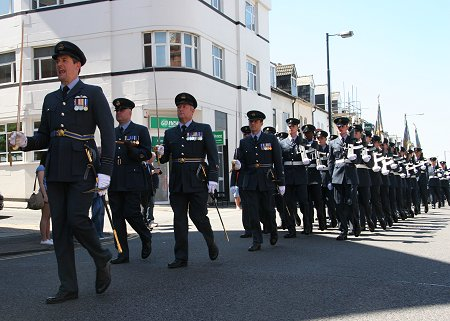 Final RAF Lyneham Parade, Swindon, 03 June 2011