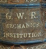 Book from the Mechanics' Institute Library Swindon