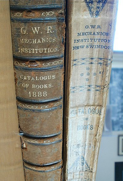 Book from the Mechanics Institute Library, Swindon