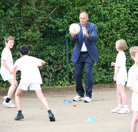 Sir Steve Redgrave in Swindon