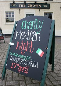 Rose & Crown Swindon Mexican Night