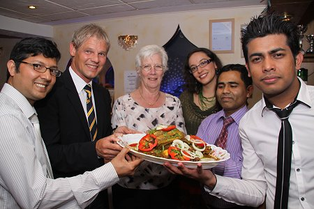 Spice is right again for swindon salzgitter mayors for Alis cuisine wakefield