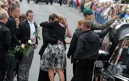 Repatriation of Marine Commando James Wright Wootton Bassett 11 August 2011